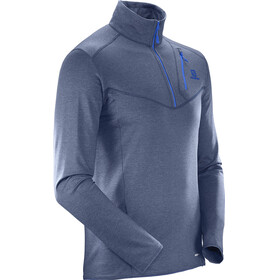 Salomon M's Discovery HZ Jacket Dress Blue